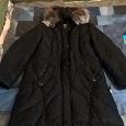 Отдается в дар пальто пуховик размер 50-52