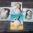 Отдается в дар Карточки Пингвины из Мадагаскара
