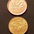 Отдается в дар Монеты Канада и Хорватия