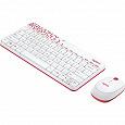 Отдается в дар Гламурный набор. Беспроводные клавиатура и мышь.