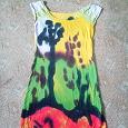 Отдается в дар Трикотажное платье. 42-44 размер.