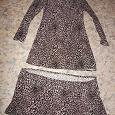 Отдается в дар Платье трикотажное, размер 44-46