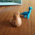 Отдается в дар Свистулька и динозавр