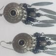 Отдается в дар Серьги, сережки в этно стиле.