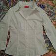 Отдается в дар Идеальная белая блузка-рубашка 42-44