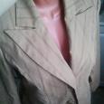 Отдается в дар костюм бежевый. пиджак, юбка. 48-50 размер.
