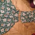 Отдается в дар Летний костюм (юбка+блузка)