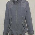 Отдается в дар Куртка женская серая демисезонная с поясом. 42 р-р.