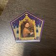 Отдается в дар Карточка-переливашка из дома Гарри Поттера в Лондоне