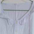 Отдается в дар Рубашка женская белая 48
