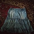 Отдается в дар Юбка джинсовая 46 размер