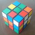 Отдается в дар Кубик Рубика и кубик-пазл
