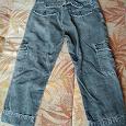 Отдается в дар Вельветовые бриджи и джинсы