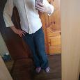 Отдается в дар Белая блузка-рубашка