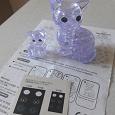 Отдается в дар 3D-конструктор — кошка с котёнком