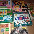 Отдается в дар Книги, игры и пособия для дошколят