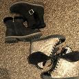 Отдается в дар Женская зимняя обувь на танкетке, размер 36