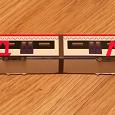 Отдается в дар Модель поезда «МЦД» картон
