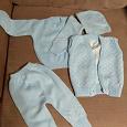 Отдается в дар Комплект теплой одежды для младенца