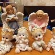 Отдается в дар Фигурки ангелочки