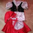 Отдается в дар Детский костюм «Красная шапочка»