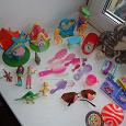 Отдается в дар Пакет мелких игрушек для девочки