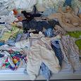 Отдается в дар Большой пакет детской одежды от 3 до 18 мес. р.68-86