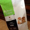 Отдается в дар Корм для щенков мелких пород Royal Farm puppy