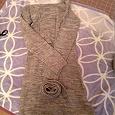Отдается в дар платье шерстяное с поясом