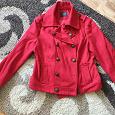 Отдается в дар Красная куртка-пальто