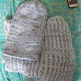Отдается в дар Зимний комплект шапка + шарф