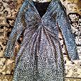 Отдается в дар Красивое платье — стрейч, размер 44