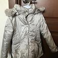 Отдается в дар Куртка зимняя на девочку 5-6 лет (р110-116)