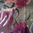 Отдается в дар Постельное белье с розами не хлопок