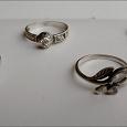 Отдается в дар Кольца женские серебряные с фианитами