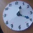 Отдается в дар Часы для обучения и логопедические занятия