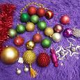 Отдается в дар Новогодние украшения