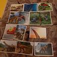 Отдается в дар Коллекционное: Смотри динозавры, сотки, Love is