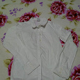 Отдается в дар Школьная блузка.