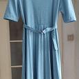 Отдается в дар Платье винтаж голубое