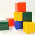 Отдается в дар Детские кубики