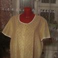 Отдается в дар Женская блузка -рубашка размер 56-58