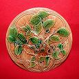 Отдается в дар Тарелка декоративная керамическая