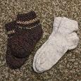 Отдается в дар Тёплые носки