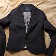 Отдается в дар Чёрный женский пиджак ZOLLA XXS