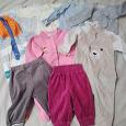Отдается в дар Одежда для малыша р.62-74 см