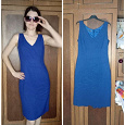 Отдается в дар Синее платье OGGi 46 размер
