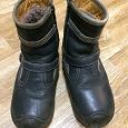 Отдается в дар зимние ботинки 33 размер
