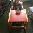 Отдается в дар Стул для кормления/стол со стулом