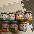 Отдается в дар Детское питание, овощные пюре